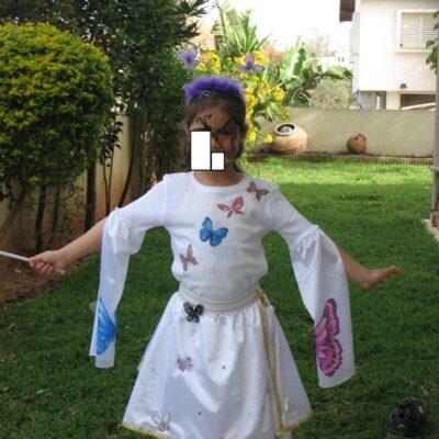 29. תחפושת של נסיכת פרפרים- סיגלית