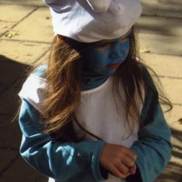 תחפושת של דרדסית ילדה-נחמה שור (לא לתחרות)