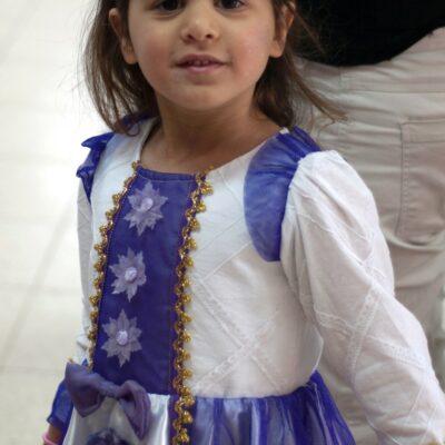 8. תחפושת של הנסיכה סיגלית - חביבה אבני