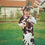 166- תחפושת של פרה- רבקה משגב