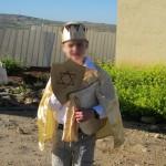 143- תחפושת של דוד המלך- דקלה ארד
