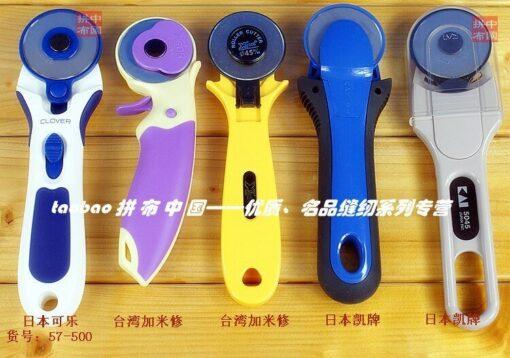 """סכיני גלגלת לחיתוך בדים להחלפה בגודל 28 מ""""מ"""
